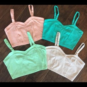 Crop Tops (lot of 4), small